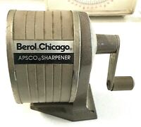 Vintage Pencil Sharpener Berol Chicago APSCO Sharpener