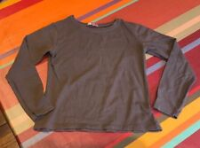 Top haut tshirt manches longues DPAM 8 ans, couleur Taupe, TBE