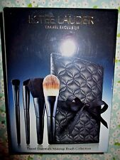 Estee Lauder 5 pc TRAVELS ESSENTIAL Makeup Brush Collection Set —Sealed
