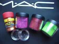 Mac cosmetics Pigment- Reflect Samples-Set , 4 Stück a 0,4 Gr mit  LE`s