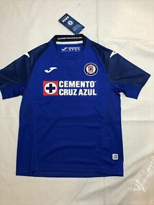 Joma Cruz Azul Home Jersey Youth Royal Blue CRZ101011.19
