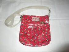 Cath Kidston Shoulder Bag Across Body Red British Doggys Union Jack Flags Crowns