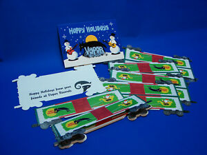 2001 Lionel 36207 Neil Young Vapor Records 6464-496 Holiday Greeting Cards C9