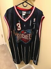 Steve Francis Houston Rockets 2003-04 Road Jersey 2XLarge Reebok EUC