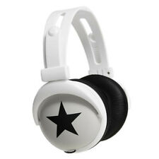 Mix-Style (Star-White) Stereo Headphones, Japan kawaii, jpop, kpop