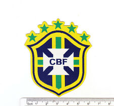 kiTki Brazil star soccer team football iron-on embroidered patch emblem applique