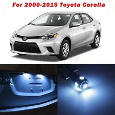 8 Ice Blue Lights Led Interior Package Kit For Toyota Corolla 2000 2018 Combo