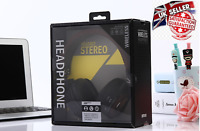 Stereo headphones Bluetooth Headset WIRLESS with Mic Support TF Card Phone Calls