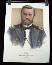 General Ulysses S. Grant Print by Artist Michael Gnatek Signed