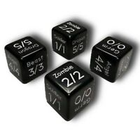 4x MTG Token Dice - Germ, Soldier, Zombie, Beast, Angel, & Dragon