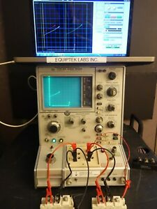 Tektronix 576 Curve Tracer with Computer Interface CALIBRATED WARRANTY SOFTWARE