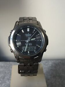 Casio Lineage Titanium Wave Ceptor Tough Solar 4319 Men's Watch LCW-100T