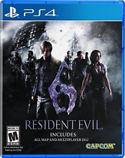 Resident Evil 6 PlayStation 4 Brand New Ps4 Games Sony Factory Sealed Cap-com