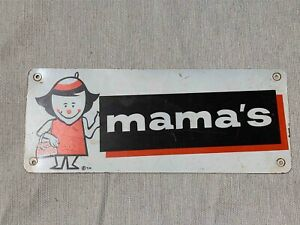 Used A&W Root Beer Soda Drive In Restaurant Mamma's Ladies Restroom Sign