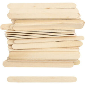 Wooden Lolly, Lollypop Sticks. Natural craft model making. 50 to 10,000