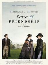 Affiche 120x160cm LOVE & FRIENDSHIP 2016 Kate Beckinsale, Chloë Sevigny NEUVE