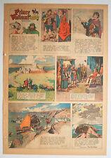 ★ Prinz Eisenherz Full Comic Sunday 3. May 1953 Hal Foster Prince Valiant