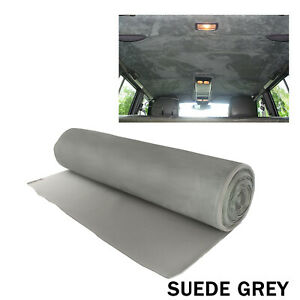 Vehicle Car Headliner Roof Lining Suede Fabrics Replace Foam Materials 3M x 1.5M