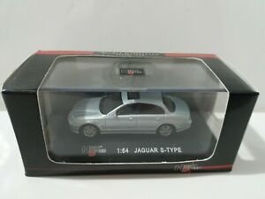 High Speed 1:64 Jaguar S-Type In Presentation Case. (Ideal Scale For Model Rail)