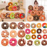 Soft Plush Pillow Stuffed Seat Pad Sweet Donut Food Cushion Cover Case Toy 40cm