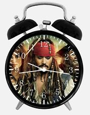 "Pirates of the Caribbean Alarm Desk Clock 3.75"" Home or Office Decor Z28"