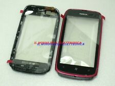 COVER VETRO ANTERIORE PER DISPLAY TOUCH SCREEN ORIGINALE NOKIA LUMIA 610 MAGENTA