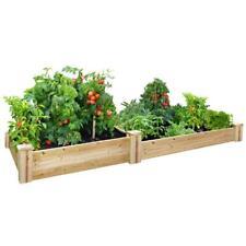 Garden Bed Raised Original Cedar Expandable Easy Setup Organic Vegetable Herbs