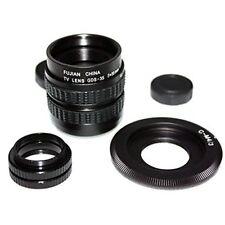 CCTV cine objetivos lente 35 mm, F/1,7 C-M4/3-Adaptador para cámara de Olympus