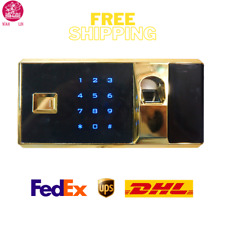 Biometric Safe Electronic Lock For Office/Home/Hotel Security With Master Keys