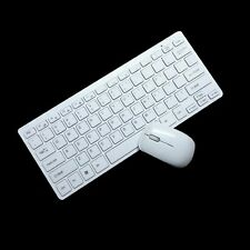 2,4GHz Wireless Mini Funktastatur USB Maus Tastatur Keyboard mit Ferbinnung Neu!