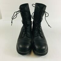 Flightliner Advantage Men's Waterproof Steel Toe Black Boots Size 13