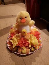 Easter bonnet - chick themed