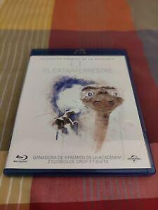 E.T Blu-Ray. Clásico Steven Spielberg. Prácticamente nuevo. Envío gratis!