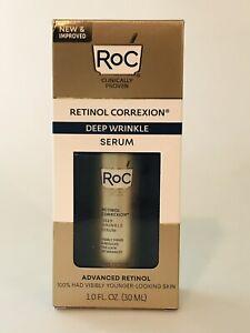 RoC Retinol Correxion Deep Wrinkle Serum 1 oz  Expires 7/2022