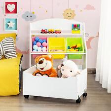 Spielzeugregal Kinder Aufbewahrungsboxen Kinderregal Organizer Spielzeugschrank