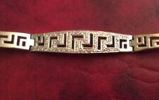 "Ladies Diamond Bracelet With Diamonds 18kt White Gold 7 1/4"" Long"