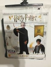 Child Harry Potter Voldemort Deluxe Halloween Costume Size Large 12-14 New!