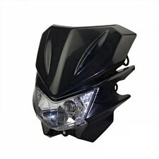 Black Motorcycle Headlight Fairing For Honda XR400R XR500R XR600R XR70R CR125R