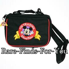 Disney Theme Parks Deluxe Mickey Mouse Pin Collector Trading Bag (NEW WITH TAGS)