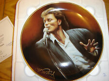 "Cliff  Richard Forty Glorious Years ""The One & Only""  plate DanburyMint"