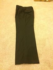 Next Low Rise Mens Formal Grey Trousers - Size 34s