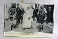 1916 Queen Of Romania With Prince Nicholas Visit Hospital