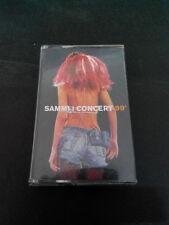 SAMMI CHENG 鄭秀文  - SAMMI I CONCERT 99'  MALAYSIA CASSETTE