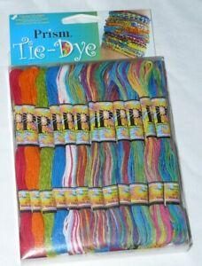 Prism PRITIEDYE Tie Dye Embroidery Floss Thread 36 Skeins 8.7 yards each NIP