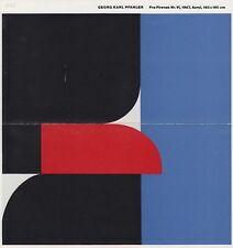Georg Karl pfahler --- original firmado - 6#21a