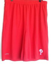 MLB Basketball Shorts Medium Philadelphia Phillies Two Pockets