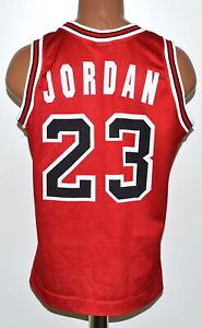 NBA Chicago Bulls Pallacanestro Maglia Champion #23 Jordan TAGLIA XS Adulto