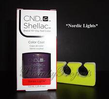CND Shellac Nordic Lights LED/UV Gel Polish .25oz New With Box + BONUS ITEM