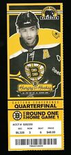 2011 Boston Bruins & Montreal Canadiens Game 1 Stanley Cup Playoff Full Ticket