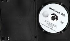 Backyard Golf Dvd Marty Schupak Improve Your Game, Reduce Strokes ~ Ex-Lib Cheap